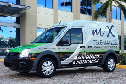 Mix Telematics Van