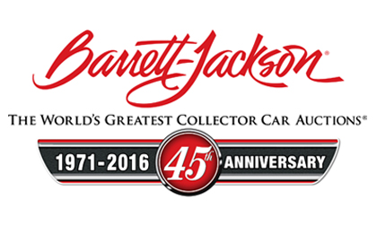Barrett Jackson 45th Logo
