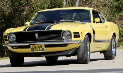 1970 302 Boss Mustang Fastback