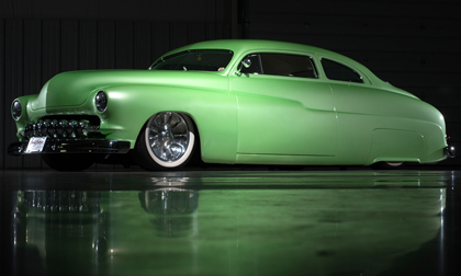 1950 Wasabi Mercury Coupe