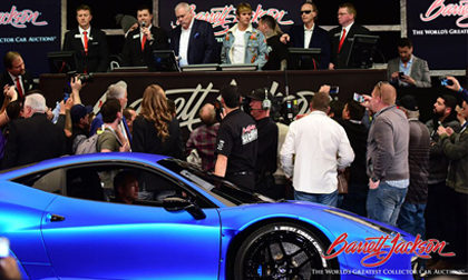 Justin Bieber on the Barrett-Jackson Auction Block