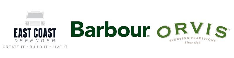 ECD Barbour Orvis Logos