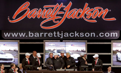Barrett-Jackson Scottsdale Auction GWB