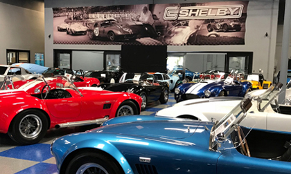 Shelby Legendary Cars Showroom