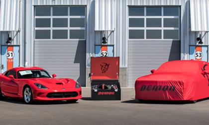 Barrett-Jackson Dodge Demon and Viper