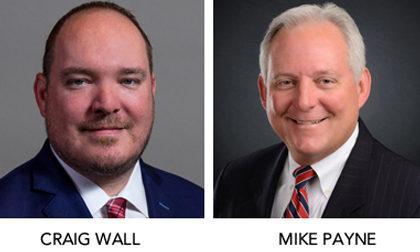 Craig Wall and Mike Payne TEPA