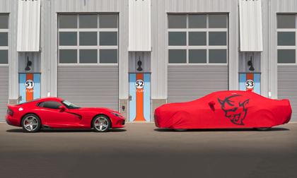 Dodge Viper and Dodge Demon