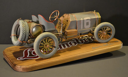 Bruce Wheeler Locomobile