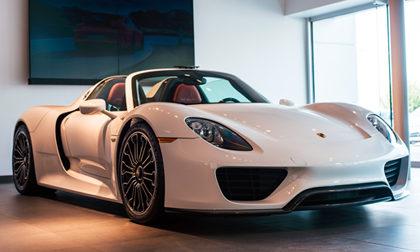 2015 Porsche 918 Spyder a