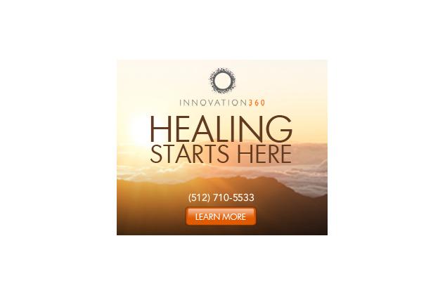 Healing Starts Here digital ad