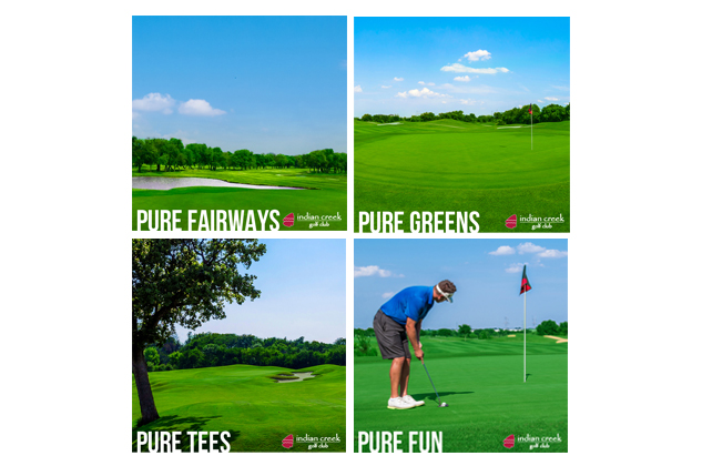 Indian Creek Golf Instagram Carousel Ad