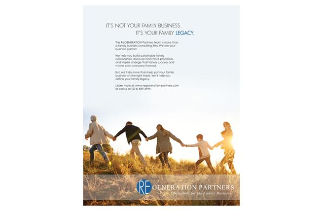 ReGen Partners Print Ad