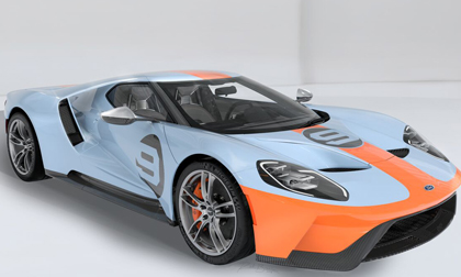 Ford GT Heritage Gulf Edition 2