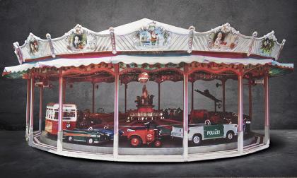 1965 full-size transportation themed carousel