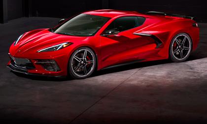 Barrett-Jackson first production 2020 Corvette Stingray