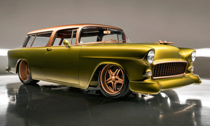 Barrett-Jackson Chevrolet Nomad Custom Wagon Gone Mad